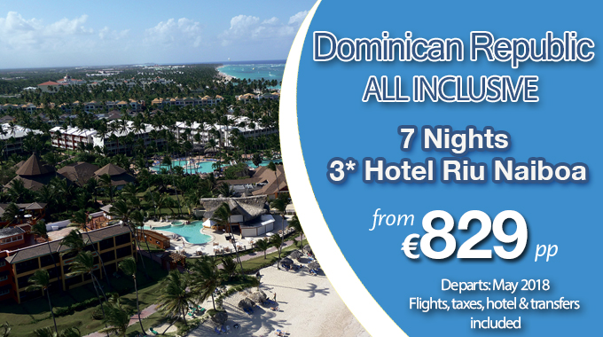 Dominican Republic | 7 Nights from €829pp