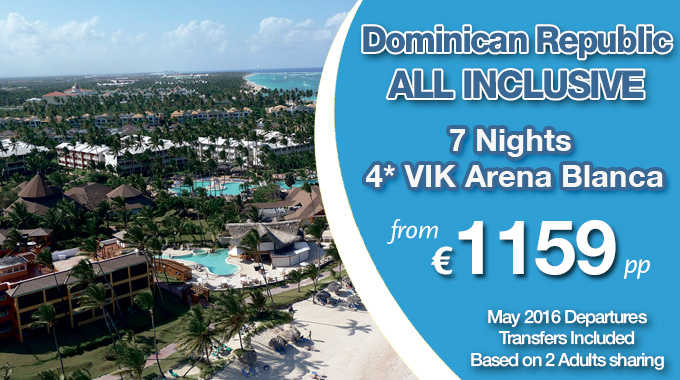 Dominican Republic | 7 nights All Inclusive from €1159pp