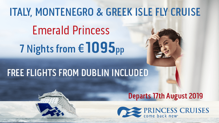 Princess Cruises | 7 Nights from €1095pp