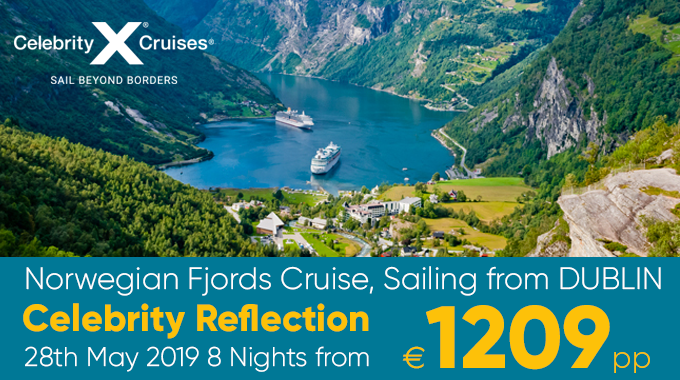 Norwegian Fjords Cruise | 8 nights from €1209pp