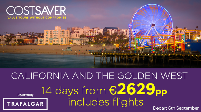 California and the West Coast | 14 days from €2629pp