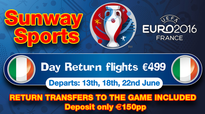 EURO 2016 | Match Day Flights with Sunway