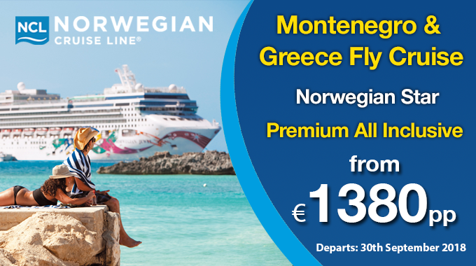 Montenegro & Greece Fly Cruise | Premium All Inclusive from €1380pp