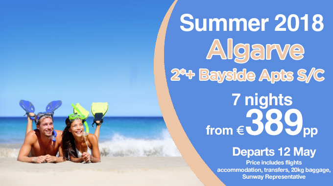 Algarve | 7 Nights from €389pp