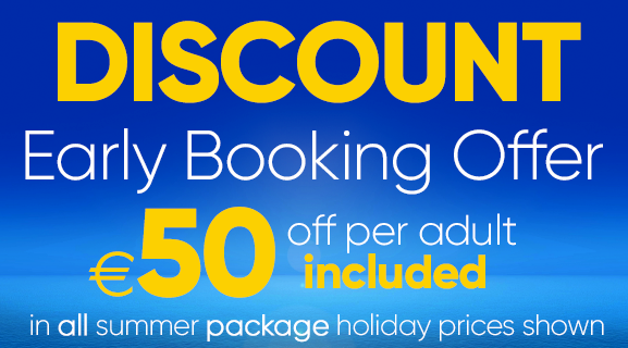 Early Booking Offer | €50 off per adult