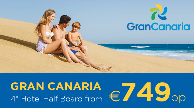 Gran Canaria | December offers from €749pp