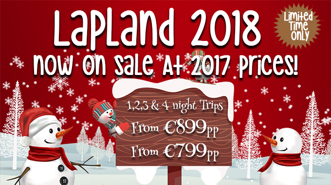 Visit Lapland with Sunway | 2018 at 2017 Prices