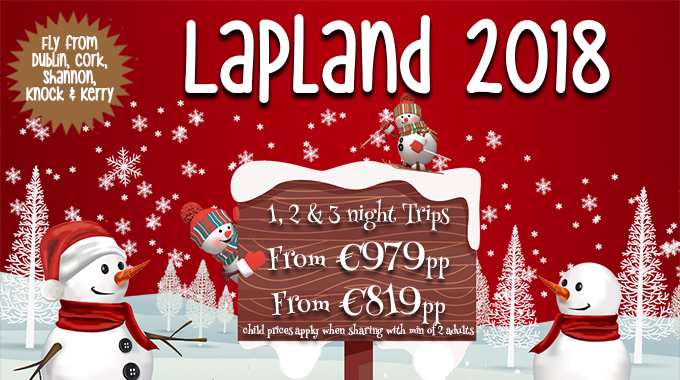 Lapland | 1, 2 & 3 Nights from €979pp