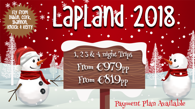 Lapland | 1, 2, 3 & 4 Nights from €979pp