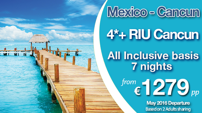 Mexico | 7 nights All Inclusive from €1279pp