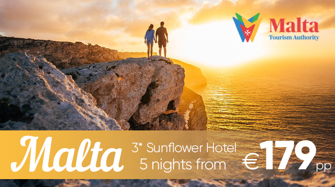 Malta | 5 Nights from €179pp