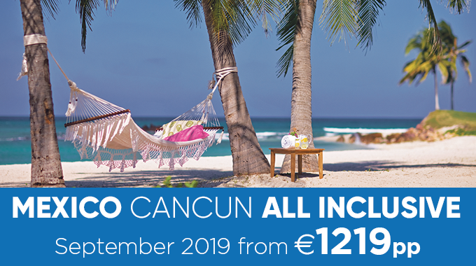 Mexico, Cancun | All Inclusive from  €1219pp