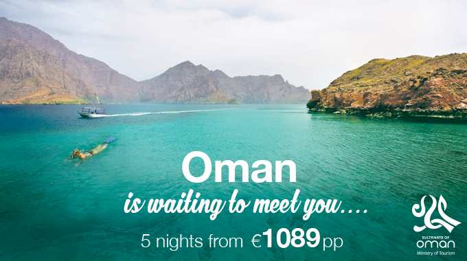 Oman | 5 nights from €1089pp