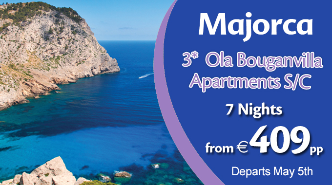 Majorca | 7 Nights from €409pp