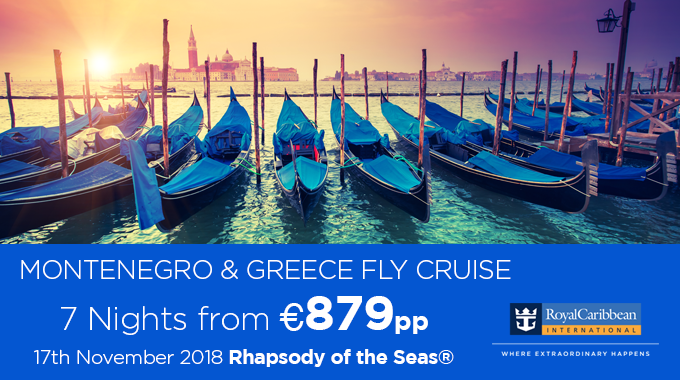 Royal Caribbean | Fly/Cruise from €879pp