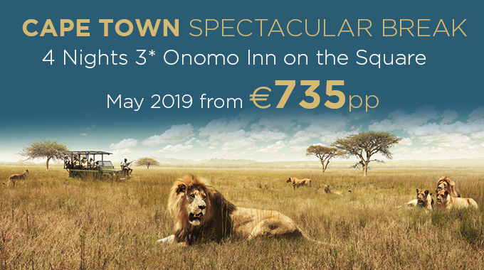 South Africa | 4 nights from €735pp