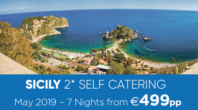 Sicily | 7 Nights from €499pp