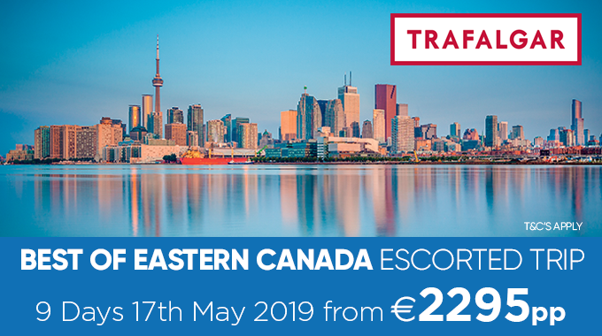 Best of Eastern Canada Escorted Tour  | 9 days from €2295pp
