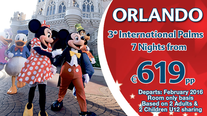 Orlando Family Offer | 7 nights from €619pp