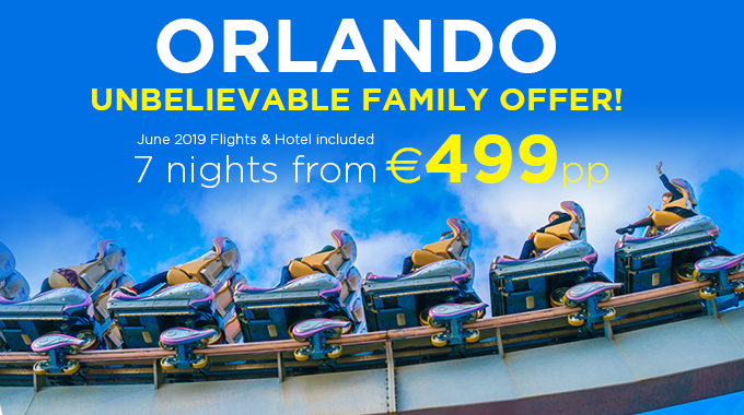 Orlando | 7 Nights from €499pp