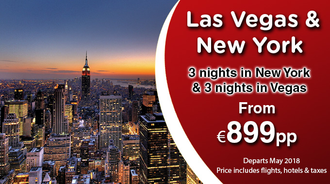 New York & Las Vegas | 6 Nights from €899pp