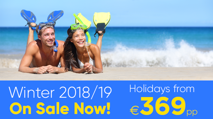 Winter Sun on Sale Now | Holidays from €369pp