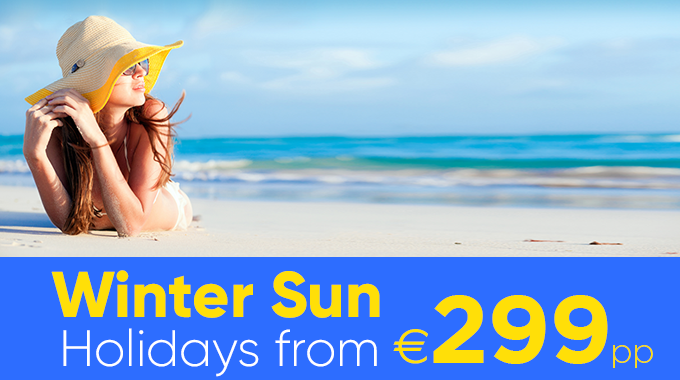 Winter Sun on Sale Now | Holidays from €299pp