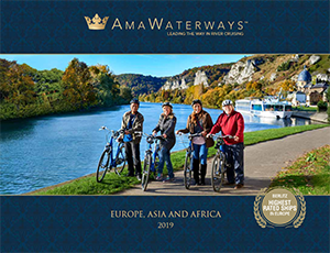 Download our Europe, Asia & Africa 2019 AmaWaterways River Cruise brochure