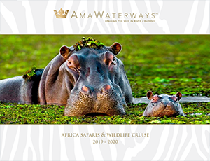 Download our AmaWaterways Africa Safaris & Wildlife Cruises 2019-2020 River Cruise brochure