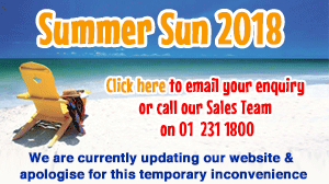 2018 Sun Holidays on sale now